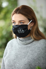 Load image into Gallery viewer, USA All the Way Women's Satin Face Mask