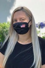 Load image into Gallery viewer, American Flag Women's Satin Face Mask