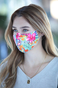 Tropical Butterfly Women's Face Mask