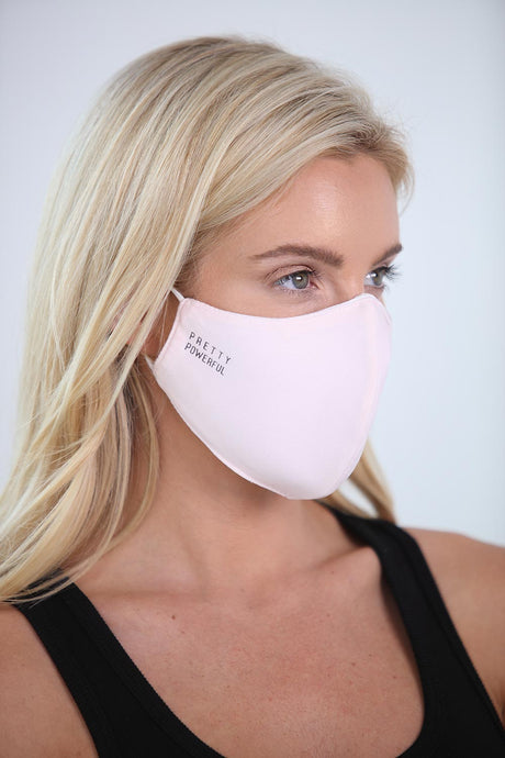 Pretty Powerful Solid Face Mask<br><strong>(multiple colors)</strong>