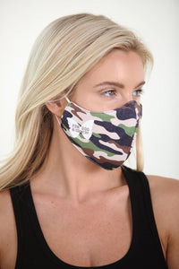 For God & Country Camo Face Mask<br><strong>(multiple colors)</strong>