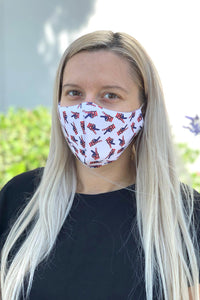 American Peace Sign Women's Face Mask