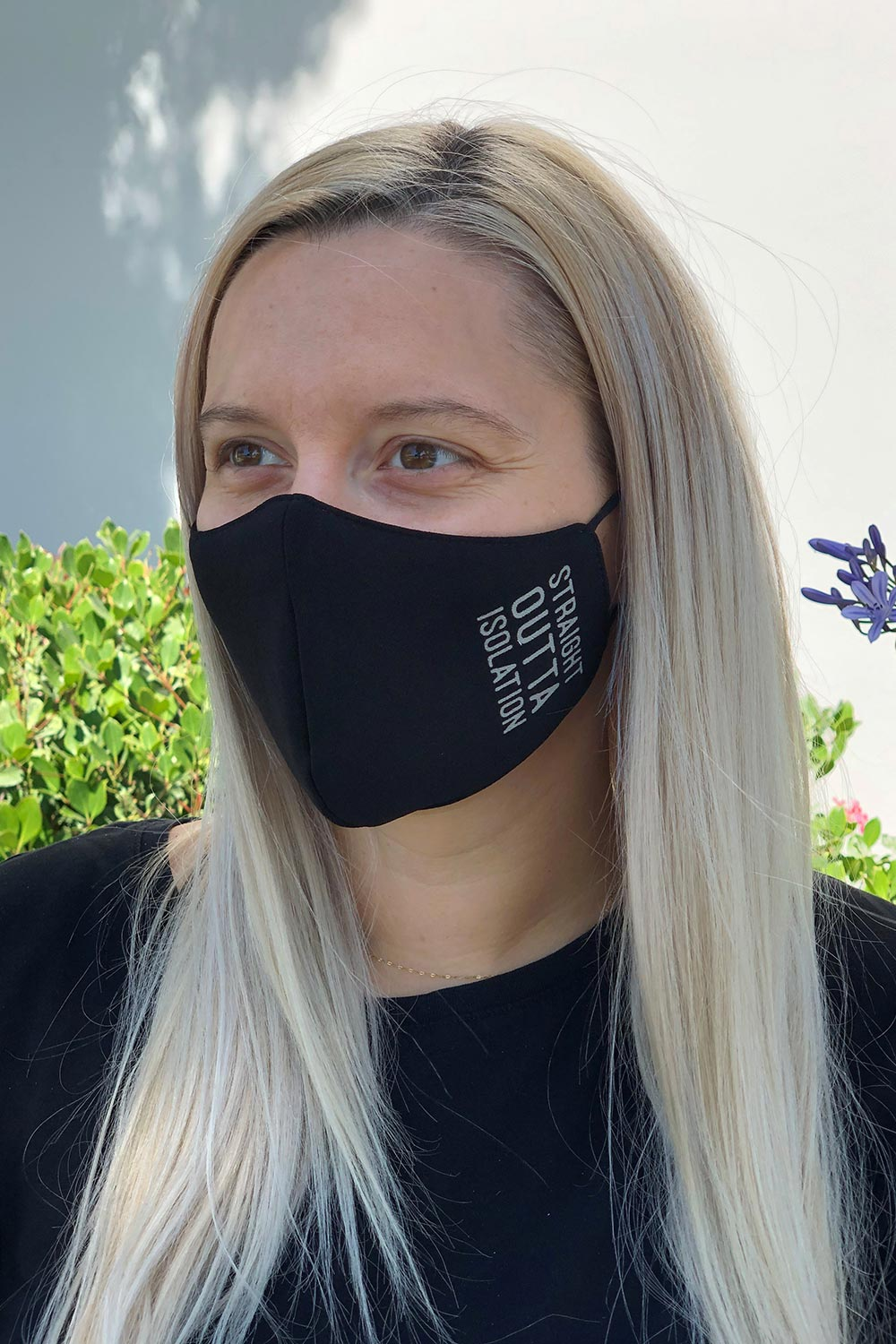 Straight Outta Isolation Women's Face Mask