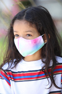 Kids Tie Dye Multi Face Mask