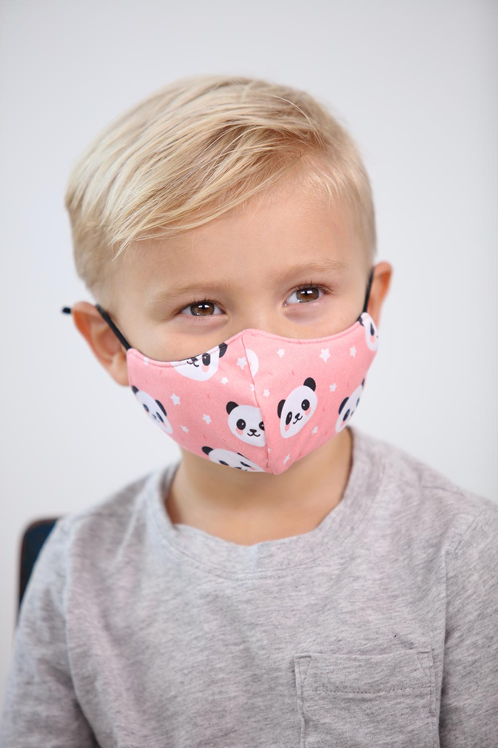 Kids Panda Face Mask