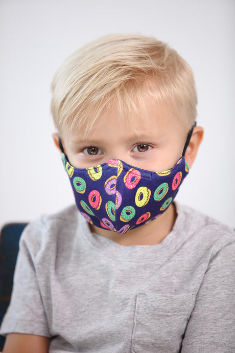 Kids Donuts Face Mask