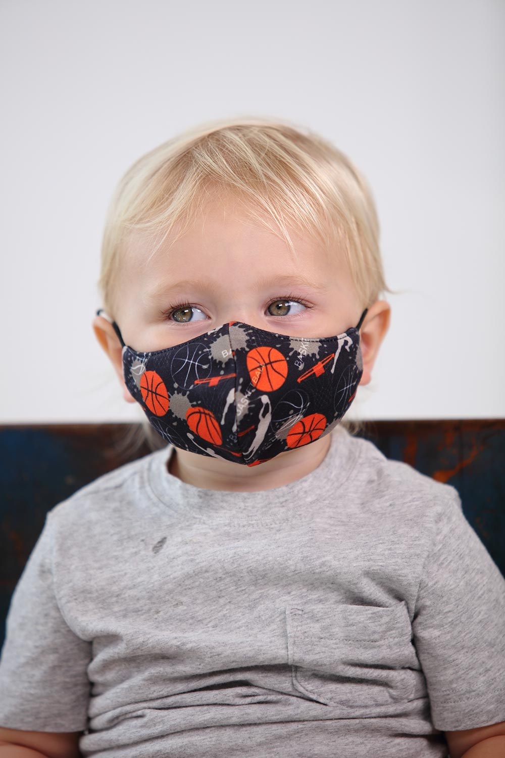 Kids Basketball Face Mask