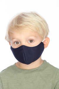 Kids Navy Face Mask