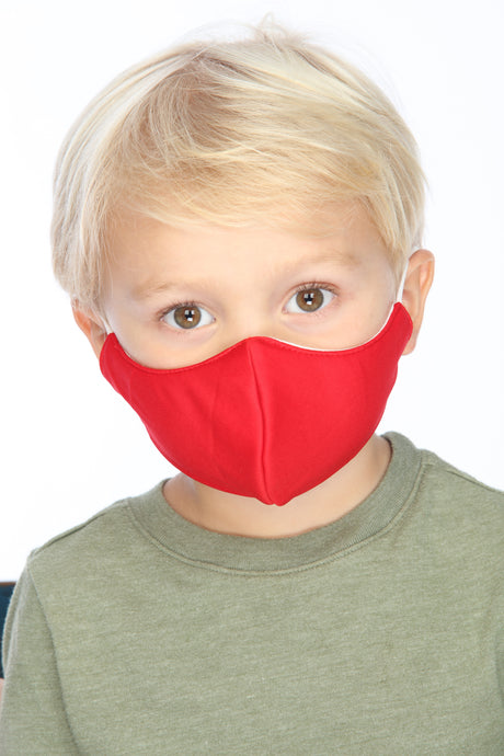 Kids Red Face Mask