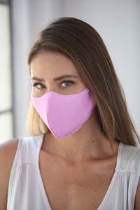 Pastel Lilac Women's Face Mask