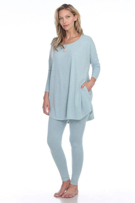 Rock Cotton Tunic/Legging Set