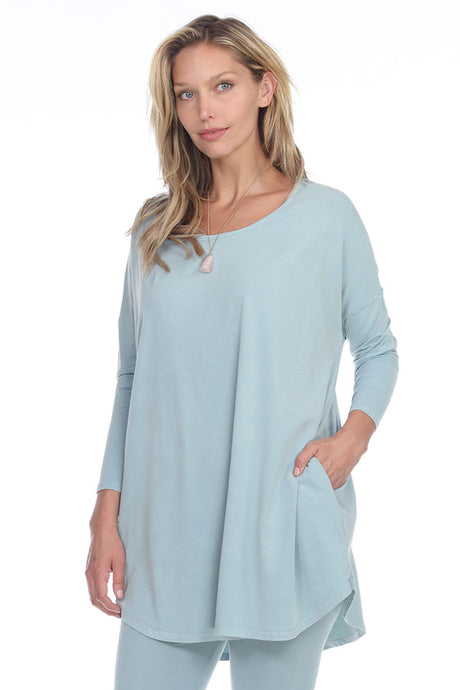 Rock Cotton Round Bottom Tunic