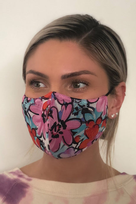 Floral Women's Face Mask
