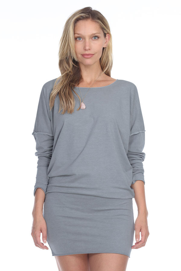 Rock Cotton V-Bottom Tunic