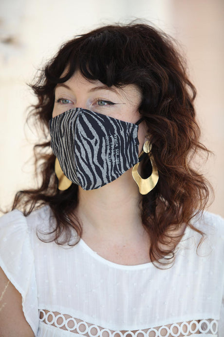 Zebra Women's Face Mask
