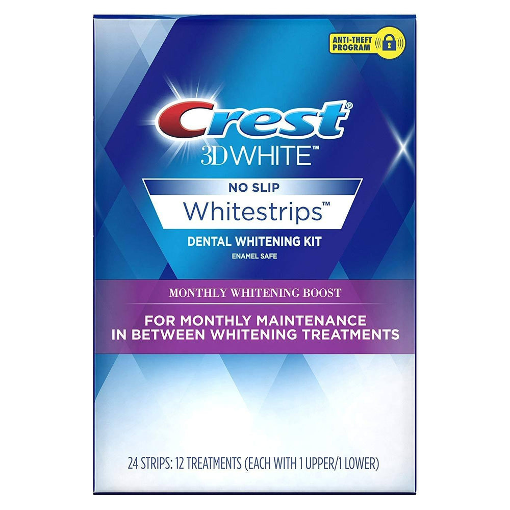 Crest 3D White Whitestrips Monthly Whitening Boost