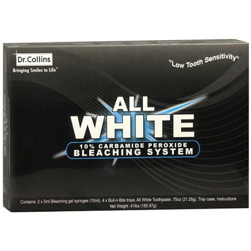 Dr. Collins ALL WHITE Bleaching System - Whiter Smile