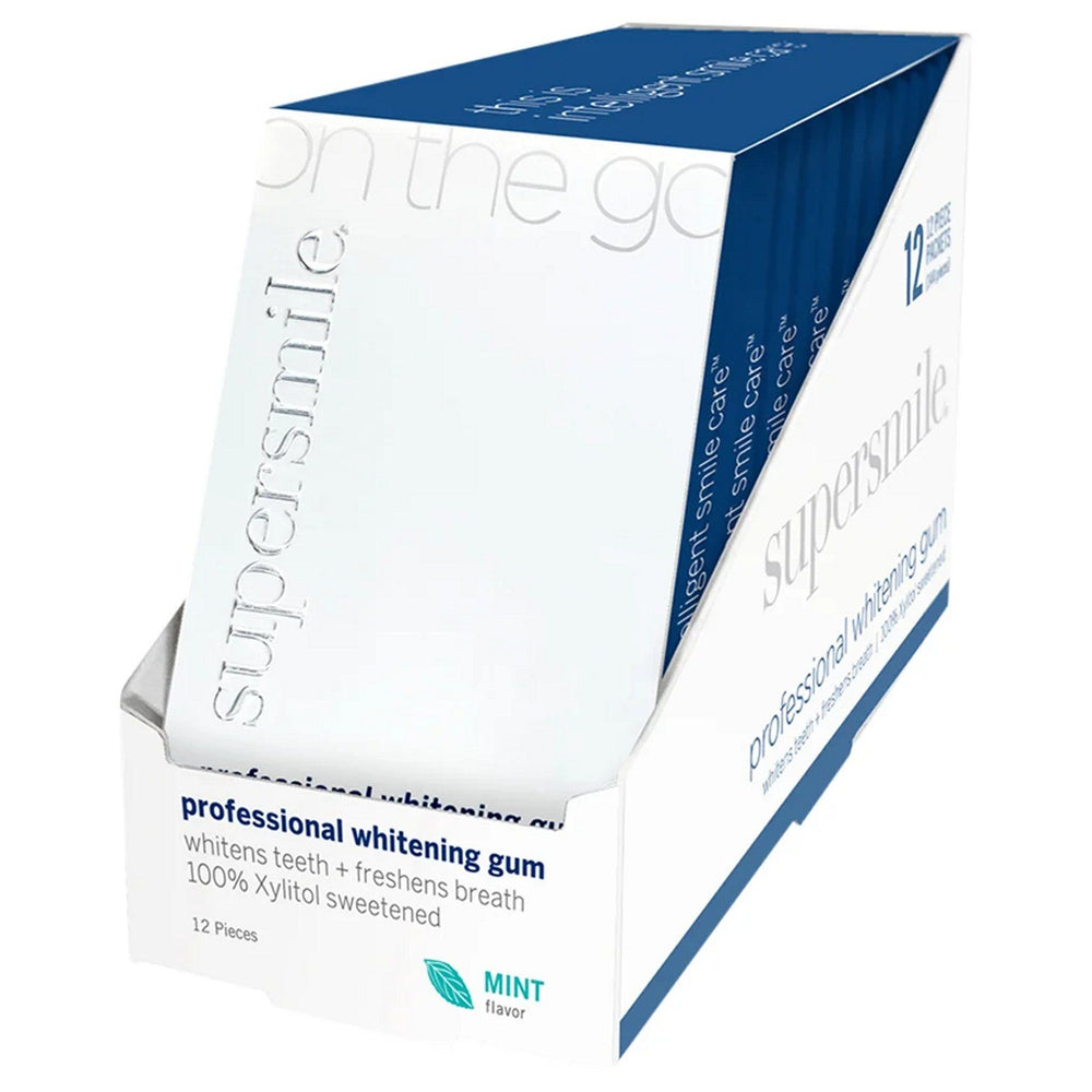Supersmile Whitening Gum (12 Pack) - Clearance - Whiter Smile
