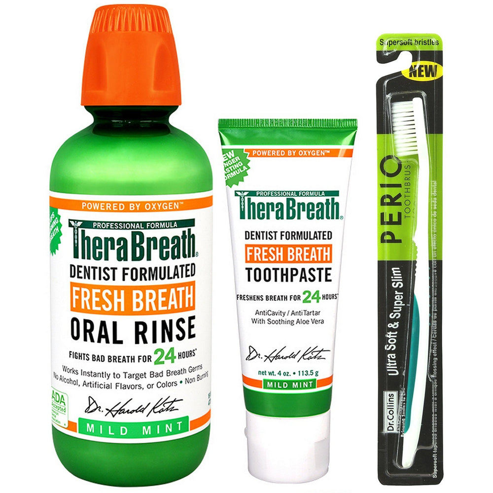 TheraBreath Original Bad Breath Basics Kit