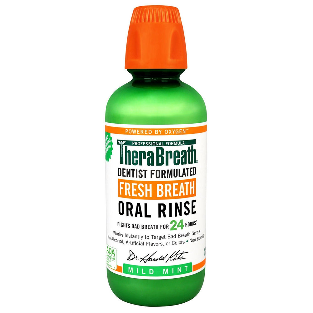 TheraBreath Fresh Breath Oral Rinse 473ml