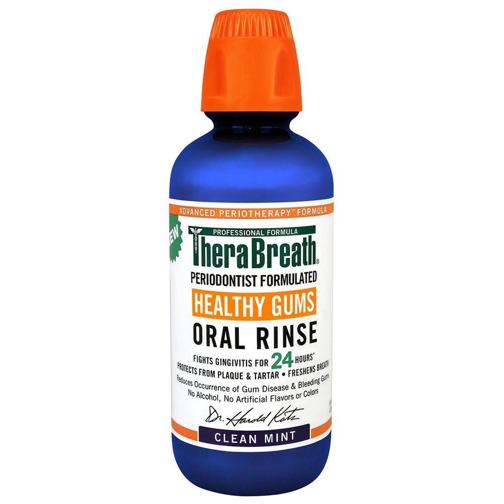 TheraBreath Healthy Gums (Perio Therapy) Oral Rinse 473ml - Whiter Smile