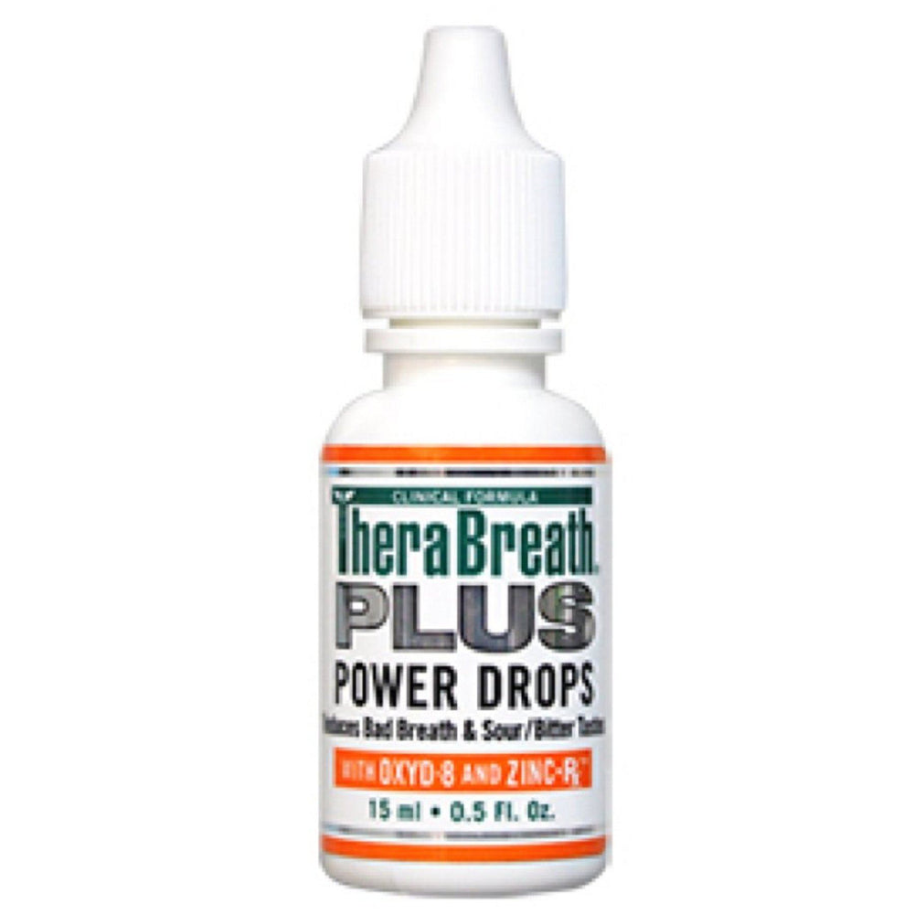 TheraBreath PLUS Power Drops 15ml (FREE WITH ANY ORDER) BB 08/20 - Whiter Smile