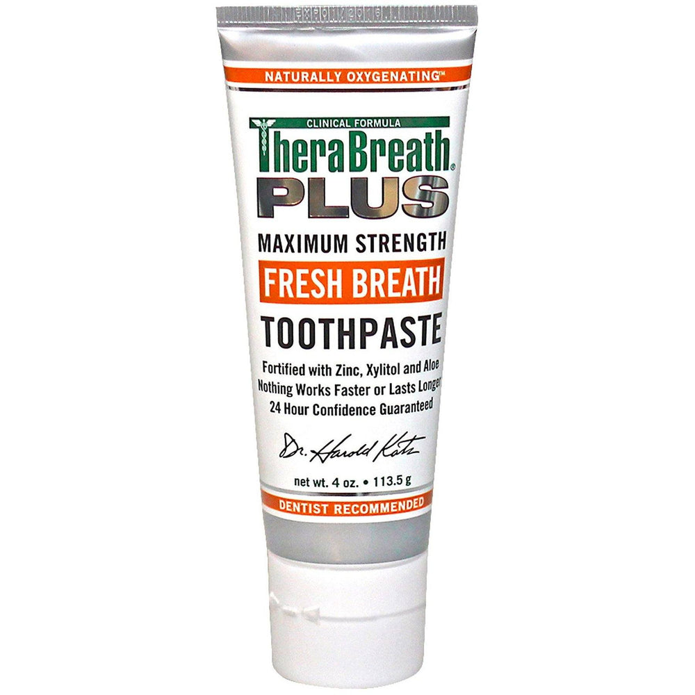 TheraBreath PLUS Toothpaste 113.5g - Best Before 02/21 - Whiter Smile