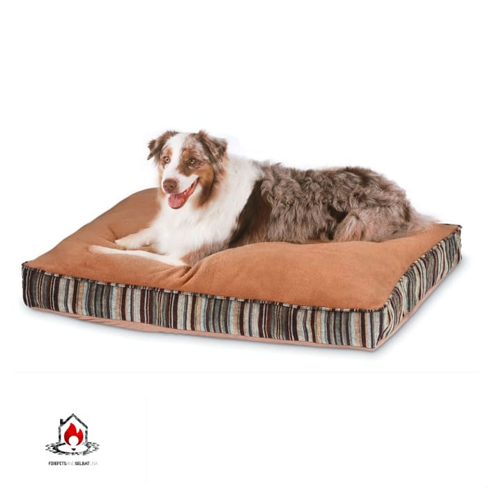 Antimicrobial Pet Bed with Zippered Removable Cover - Fits Medium size Dog - Bedroom > Cat and Dog Beds