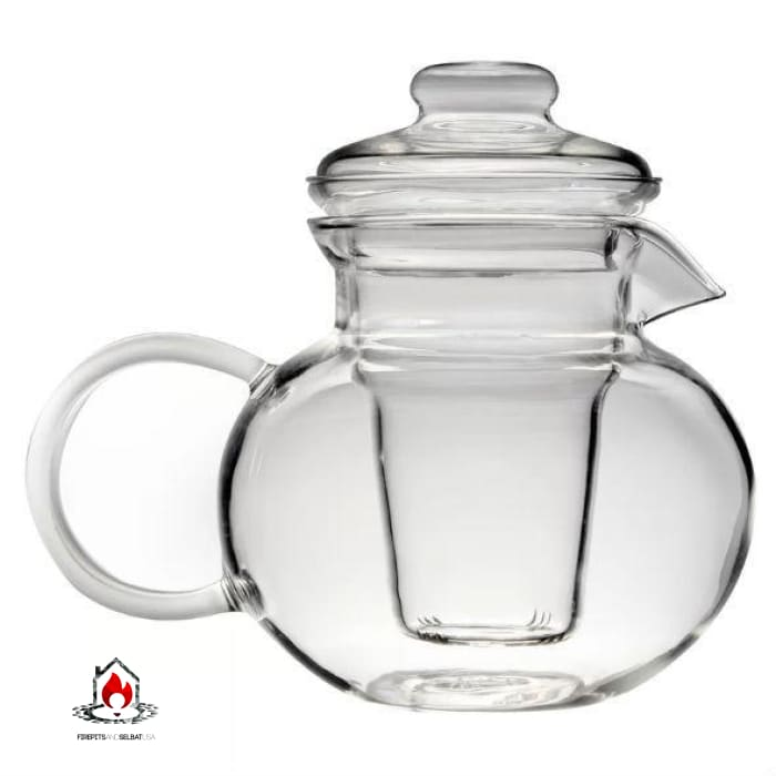 Borosilicate Glass Stovetop Safe Teapot with Glass Tea Infuser - Kitchen > Teapots