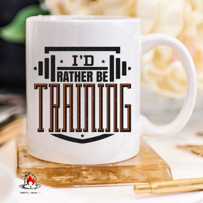 Id Rather Be Training - 11oz Coffee Mug - Kitchen