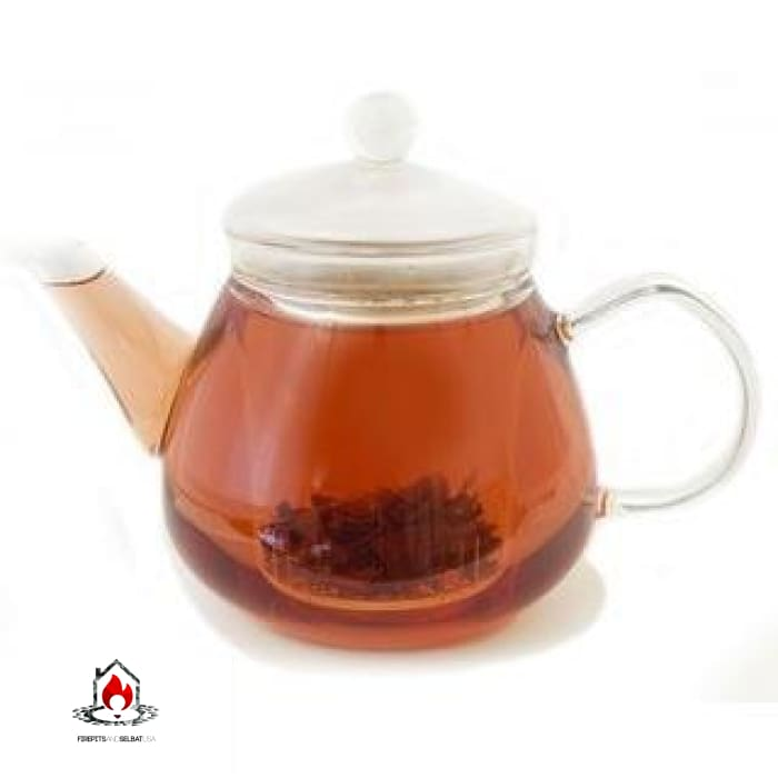 Stovetop Safe Glass Teapot Water Boiler Kettle with Infuser - Kitchen > Teapots