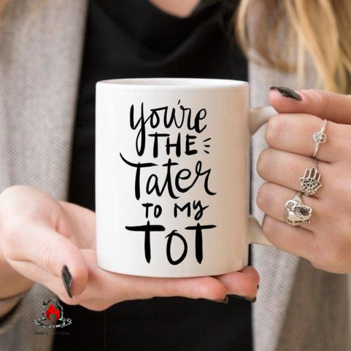 Youre The Tater To My Tot Cute Friendship Mugs - Kitchen