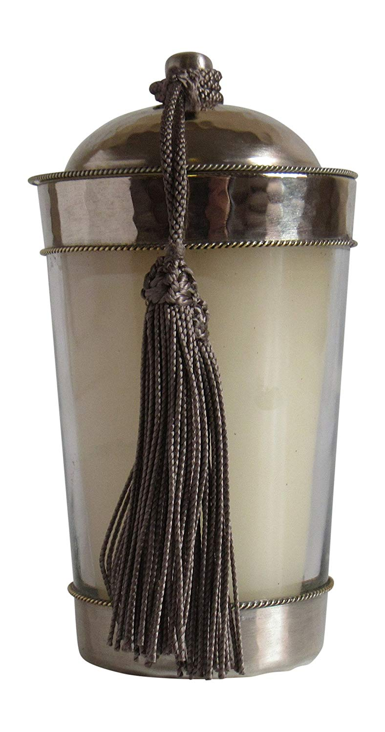 Moroccan Scented Candle, Jasmin 6 oz - Marrakesh Gardens