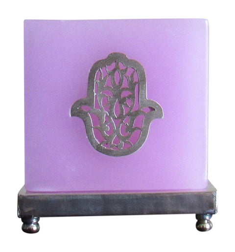 Moroccan Fatma Tea Light Candle Holder, Rose - Marrakesh Gardens