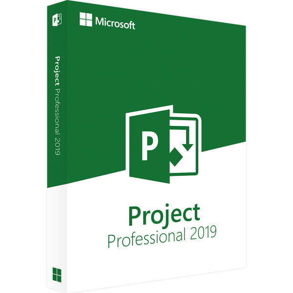 Microsoft Project 2019 - Lifetime License
