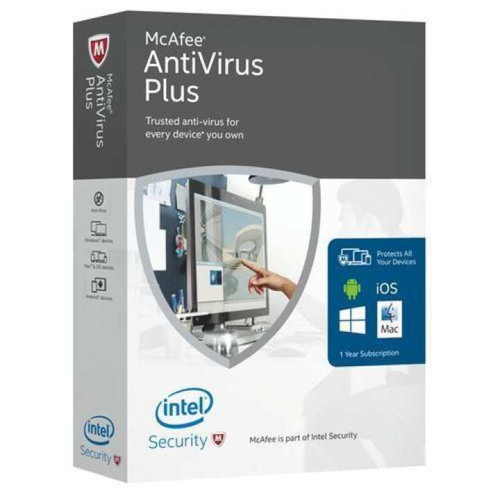 McAfee Antivirus Plus 2019 Private 1 Year Unlimited - McAfee Login