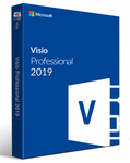 Microsoft Visio Professional 2019 32/64 bit Key for 1 pc - Email Delivery - lowpriceskey