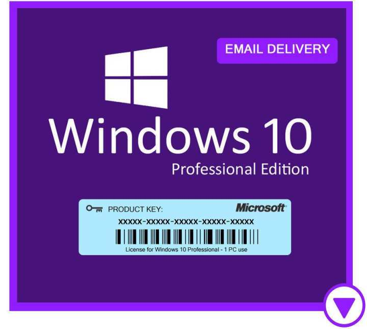 100% Genuine Windows 10 Pro 32/64bit Professional License Key Cheap