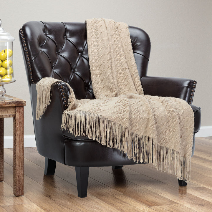 Bevel Dune Throw