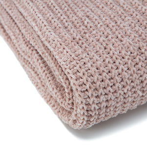 Knit Blush Throw