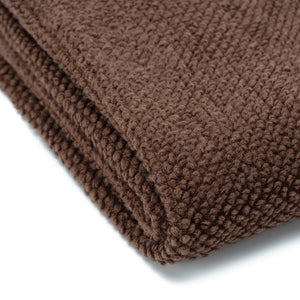 Roundpearl Carob Throw