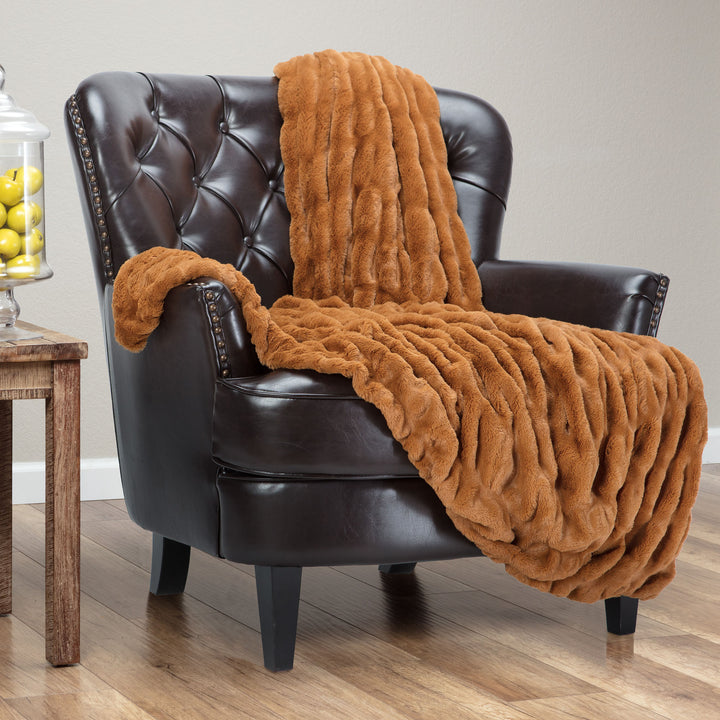 Ruched Cathy Spice Throw