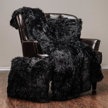 Solid Long Fur TPC Black Combo