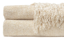 Chenille Creme Throw