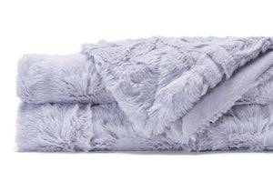 Feather Lavender Throw