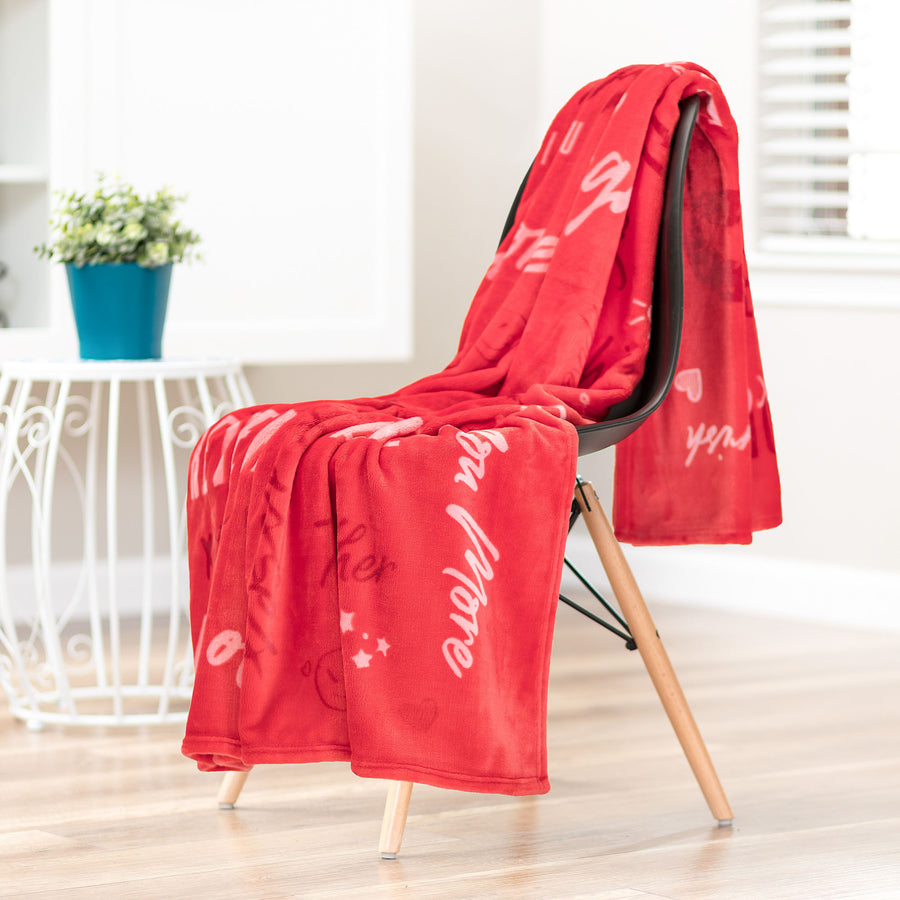 Love Red Throw