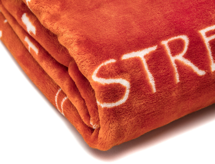 Positive Orange Throw