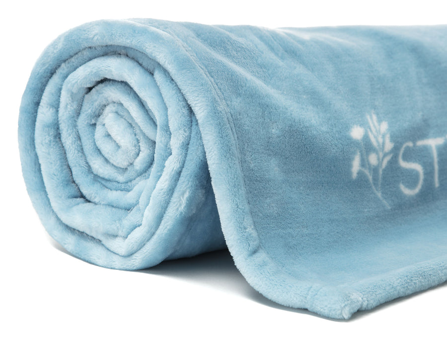 Positive Sky Blue Throw
