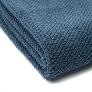 Roundpearl Blue Throw