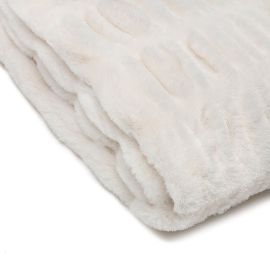 Ruched Cloud Throw